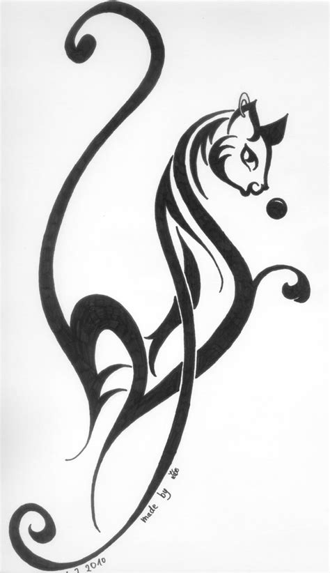 tribal cat tattoos cat tribal by cats hurt on deviantart