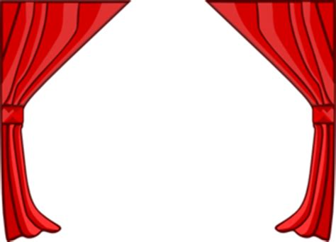 Apple Curtains Just Red Curtains Clip Art At Clker Com Vector Clip Art