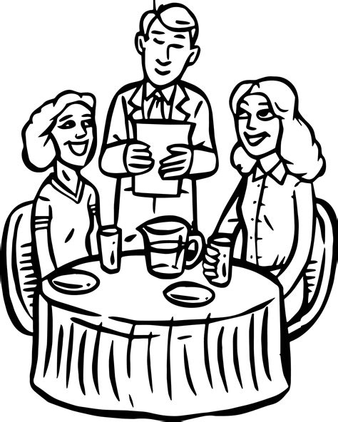 coloring pages for restaurants restaurant building cheap restaurant coloring page