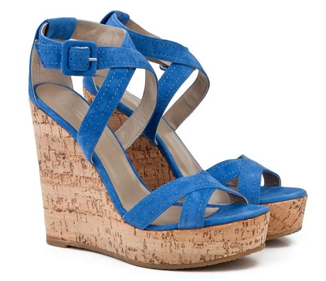 high cork wedge sandals mario giordano suede cross straps high cork wedge heel