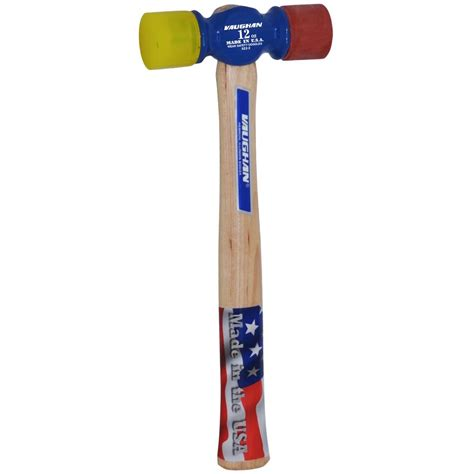 shop vaughan soft face 12 oz smoothed face rubber mallet