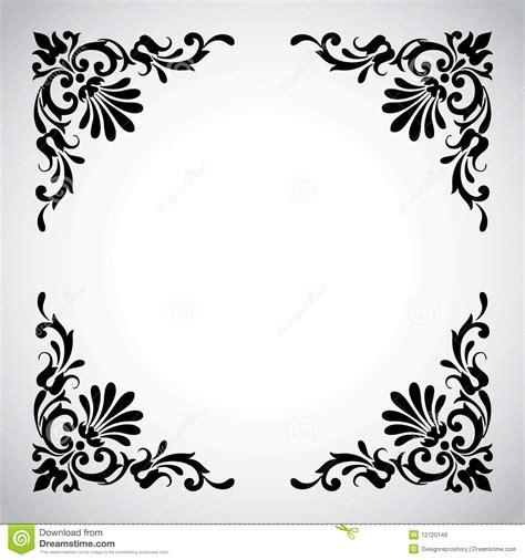 antique design decorative vintage design element stock vector image 12720149