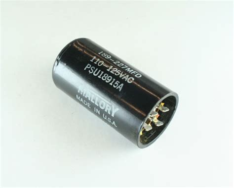 capacitor start motor applications psu18915a mallory capacitor 189uf 110v application motor start 2020044617