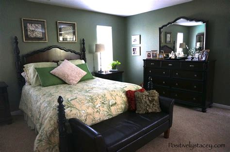 rooms paint painting our master bedroom green positively stacey