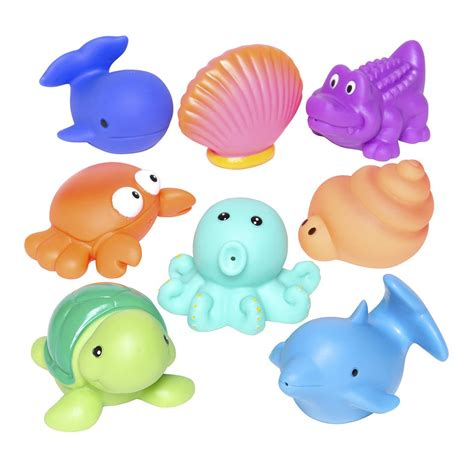 bathroom toys party squirties sea baby bath toys elegant baby