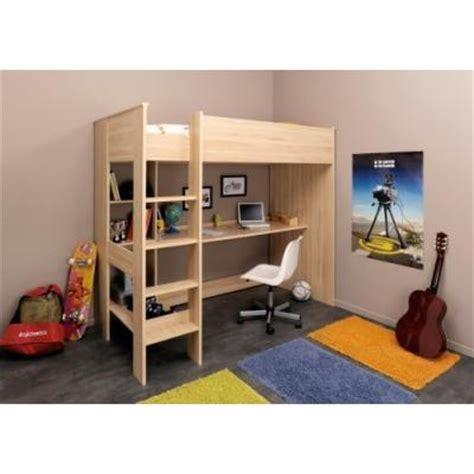 lit mezzanine et bureau lit mezzanine avec bureau et rangements lits mezzanines