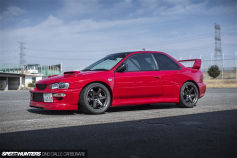 subaru gc8 coupe 555 horses of widened fury speedhunters