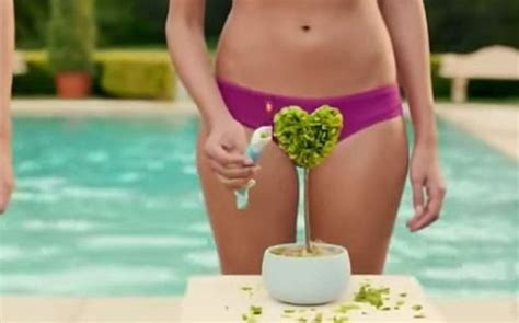 shaving your bush commercial anyone else offended by schick s new bikini razor ad poll