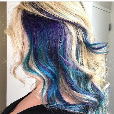 peek a boo hair color best 25 peekaboo hair colors ideas on