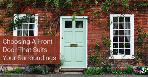 choose  front door  suits  neighbourhood