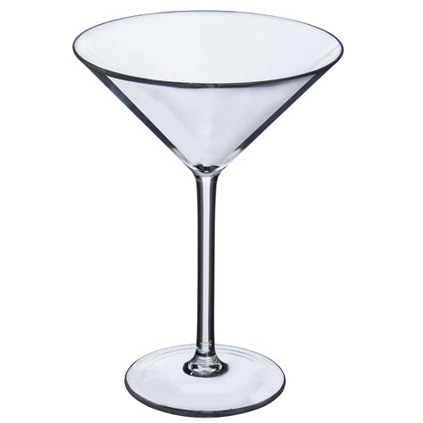martini glass specifications