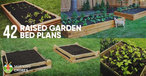 diy raised garden bed plans ideas   build   day