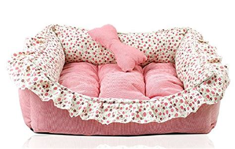 Luxury Princess Bed Lovely Cool Cat Beds Sofa M Medium u princess floral pet bed sofa house mat for cat puppy 22 inch by 15 5 inch pink
