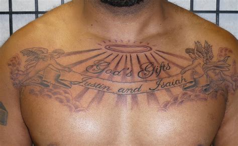 angel tattoos for men on chest gods gifts chest for