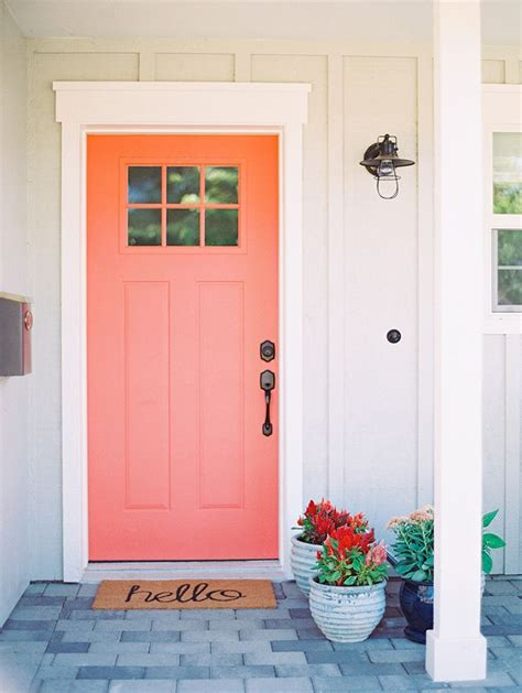 Front Door Reefs Best 25 Coral Front Doors Ideas On