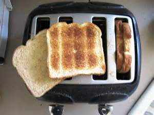 tip how to toast one side of the bread for sandwiches