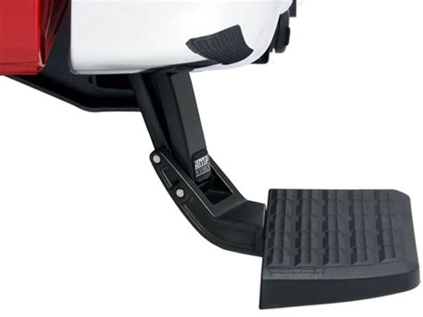 truck bed step amp research bed step car truck accessories com