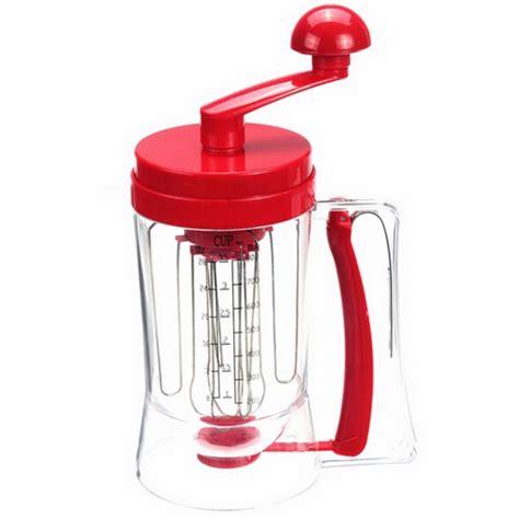 Mixer Pengaduk Adonan Kue manual pancake machine alat pengaduk adonan kue