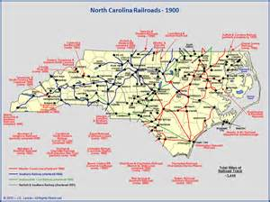 carolina railroads 1900