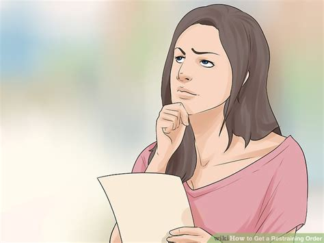 Does A Restraining Order Go On Your Criminal Record How To Get A Restraining Order With Pictures Wikihow