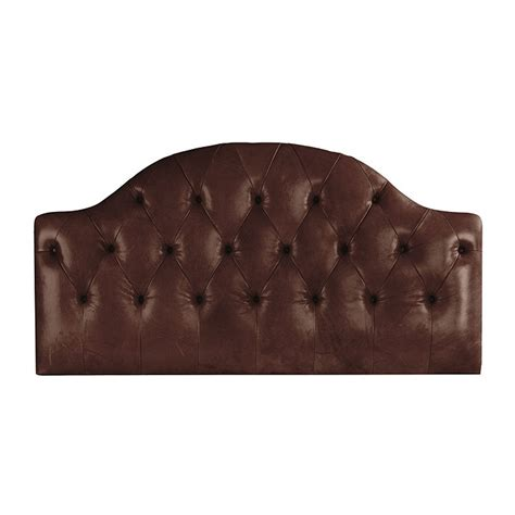 Camden Headboard by Camden Tufted Leather Headboard Ballard Designs