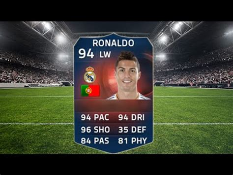 reset online record fifa 15 fifa 15 record breaker 94 ronaldo youtube