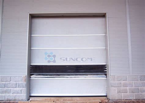 High Speed Roll Up Door by Rapid Automatic Industrial High Speed Pvc Curtain Roll Up Door Fast Rolling Door