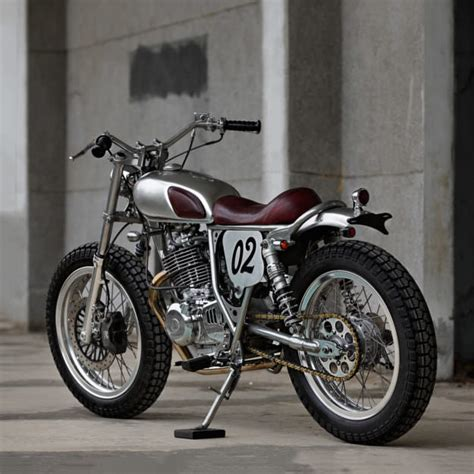 Custom Suzuki Small But Perfectly Formed 2loud S Suzuki Tu250 Bike Exif
