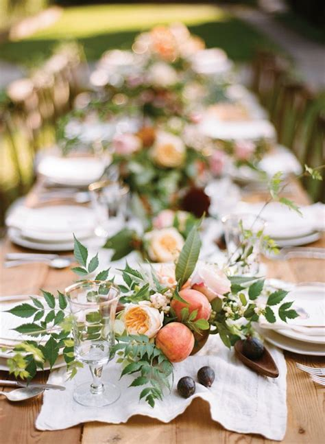 fruit centerpieces for tables 5 stunning wedding table ideas