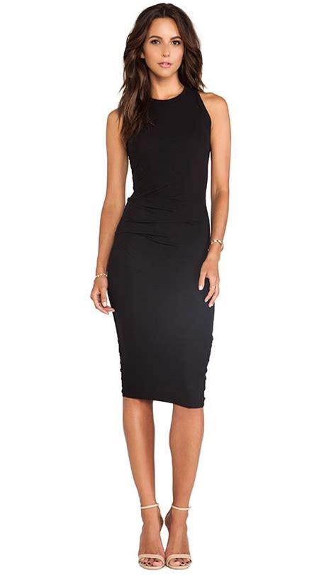 tucked tank dress in black revolve get in my closet black