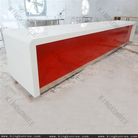 Kingkonree Solid Surface Shop Counter Design   Buy China shop counter design, mobile counter