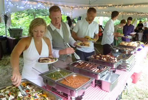 Bbq Backyard Wedding Bbq Buffet Wicked Southern Barbeque
