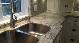 Cabinets And Vanities Arctic Cream Granite Flat Eased Edge Northern Marble