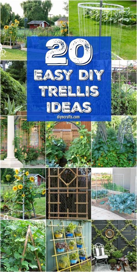 easy diy trellis ideas  add charm  functionality