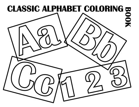 alphabet coloring book coloring book for toddlers aged 3 8 unofficial book volume 1 books file classic alphabet cover at coloring pages for