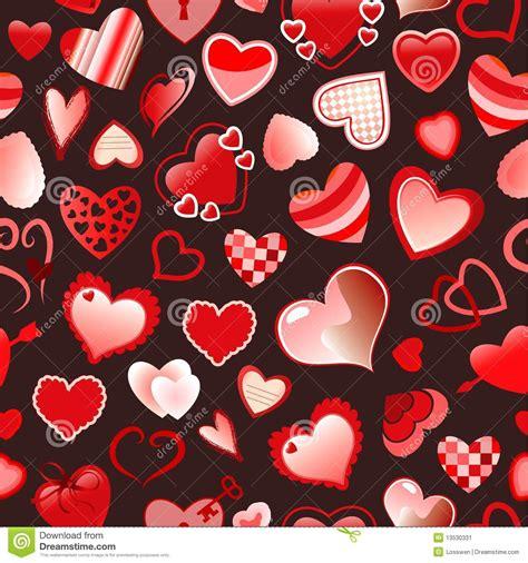 seamless pattern love seamless love pattern stock image image 13530331
