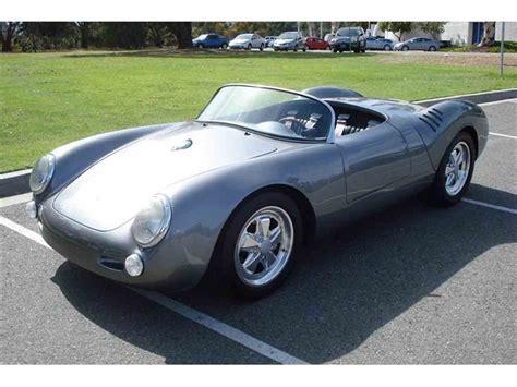 Porsche 550 Replica 1955 porsche 550 spyder replica for sale classiccars