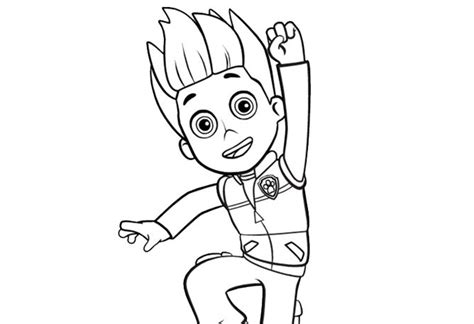 coloring pages paw patrol ryder ryder paw patrol coloring pages charts pinterest
