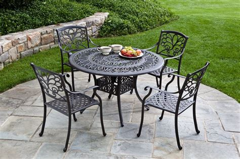Patio Furniture Metal Sets Patios Decor With Metal Garden Furniture Sets Motiq Home Decorating Ideas