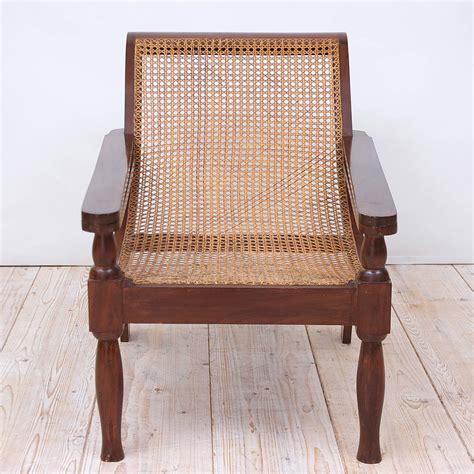 Caning Chair - west indies planters chair in mahogany with caning at 1stdibs