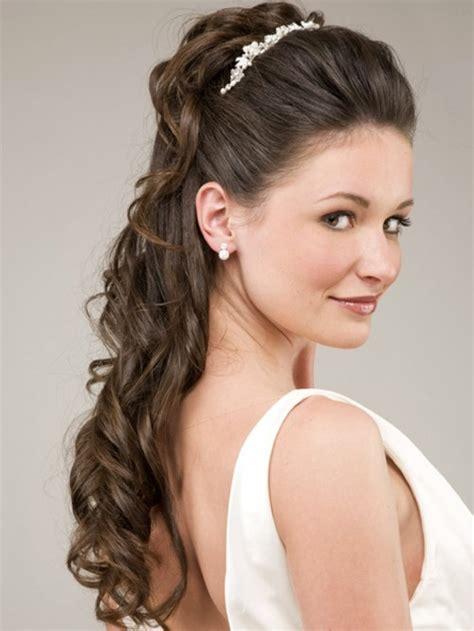 bridal hairstyles  long hair     dream wedding