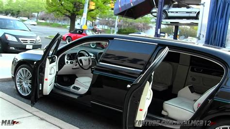 limousine bentley bentley continental flying spur limousine youtube