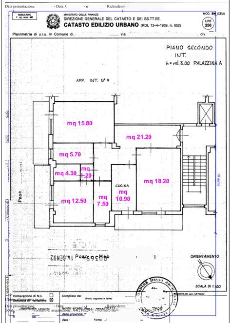 visura catastale appartamento planimetria catastale o rasterizzata 13 50
