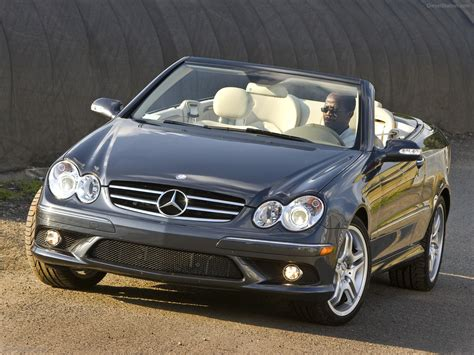 Mercedes Clk 550 by 2009 Mercedes Clk550 Cabriolet Car Wallpapers