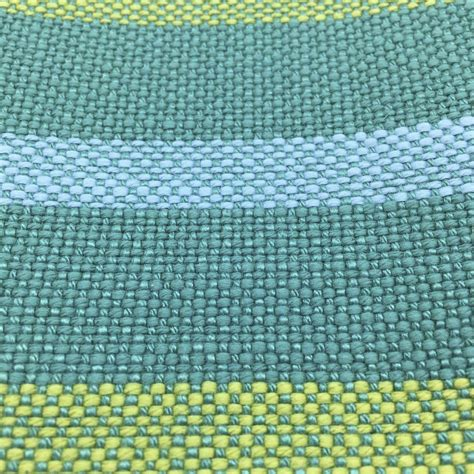 blue green upholstery fabric teal blue green yellow striped upholstery drapery fabric