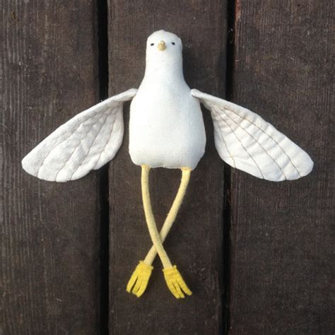 Handmade Bird Toys - the far wood handmade stuffed toys plush bird toys