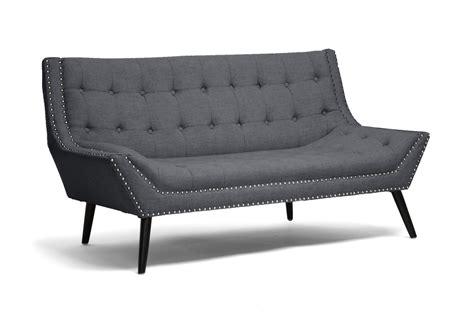silver table ls living room tamblin gray linen modern loveseat affordable modern