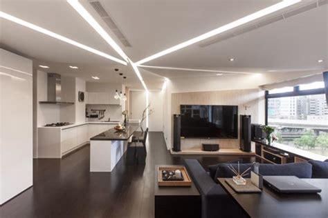 Apartment Zero Lighting Modern Apartment With Lighting Setup In Taiwan