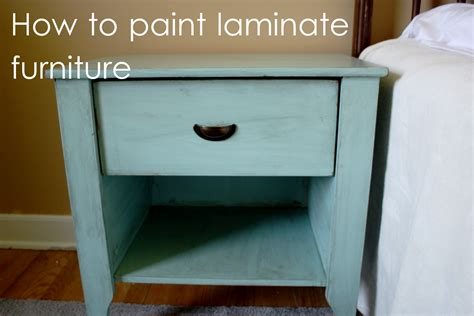 painting a laminate desk life s little details how i paint laminate furniture