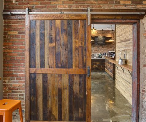 Reclaimed Wood Barn Doors Baltimore Md Sandtown Millworks Reclaimed Wood Barn Doors
